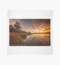 Sun rise on the reeds Scarf