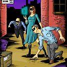 Team Sideways Comic Cover by thinkinsideways