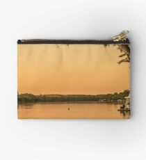 Relaxing on the river Studio Pouch