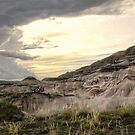 Stormwatch on the Badlands 2 by Tracy Friesen
