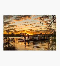 Golden Ferry Photographic Print