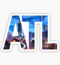 Atlanta Night Sticker
