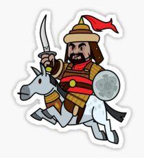 Genghis Khan Sticker