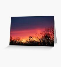 Farm Sunrise Greeting Card