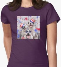 PATRIOTIC Womens Fitted T-Shirt