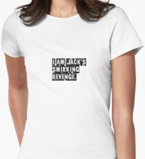 I Am Jack's Smirking Revenge - Fight Club Women's Fitted T-Shirt
