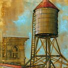 NYC Water Tower 1 by Eva Crawford