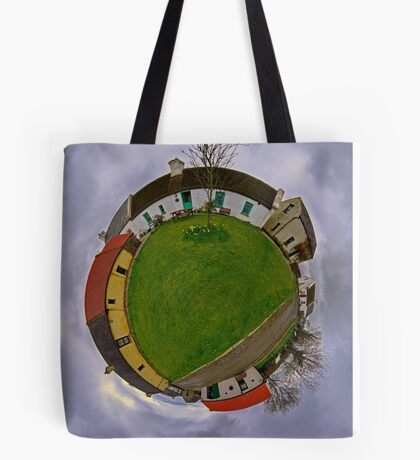 Hanna's Close, County Down (Sky Out) Tote Bag