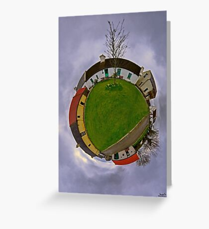 Hanna's Close, County Down (Sky Out) Greeting Card