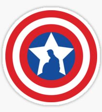 Cap's Shield Sticker