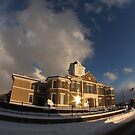 Morgan County Courthouse on a Winter's Day by Kent Nickell