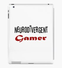 Neurodivergent Gamer iPad Case/Skin