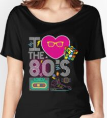 I heart the 80's eighties Women's Relaxed Fit T-Shirt