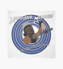 Maryland Melodies: The Cheese Stands Alone! Scarf