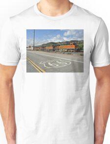 BNSF # 7805 at Cajon Pass Unisex T-Shirt
