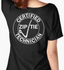 Drifter - Certified zip tie technician Women's Relaxed Fit T-Shirt