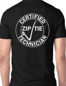 Drifter - Certified zip tie technician Unisex T-Shirt