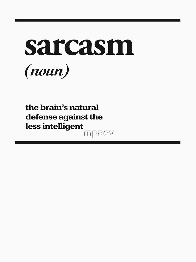 sarcasm by mpaev