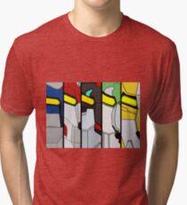 Camiseta de tejido mixto Cartel León Voltron