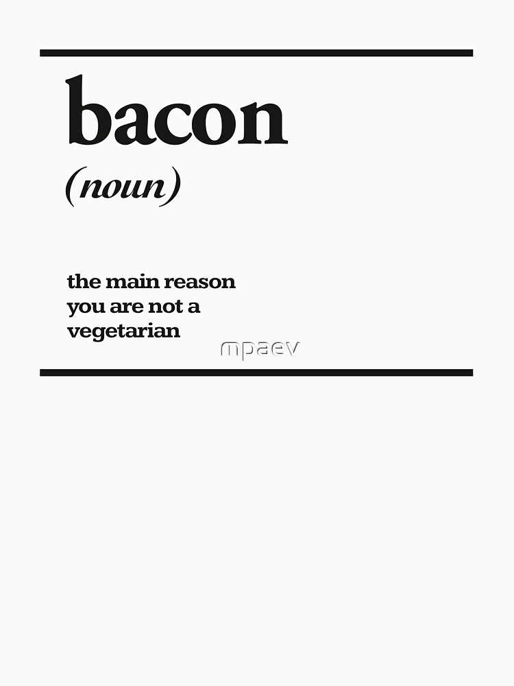 bacon by mpaev
