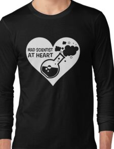 Mad Scientist at Heart Long Sleeve T-Shirt