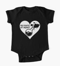 Mad Scientist at Heart One Piece - Short Sleeve