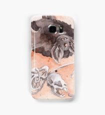 Vampire Bat and Skeleton Friend Samsung Galaxy Case/Skin
