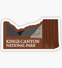 Kings Canyon National Park Sticker