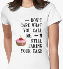 L's cake Women's Fitted T-Shirt