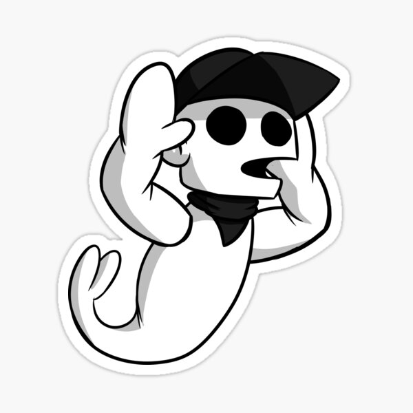 The third Ghost Batter sticker that needs to stop Sticker