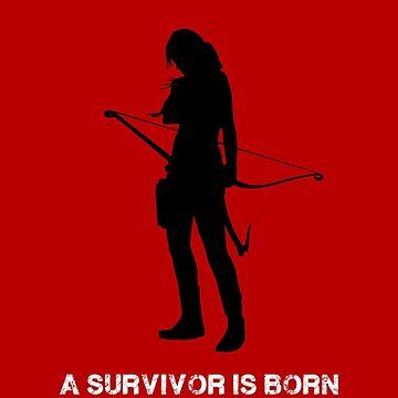 Tomb Raider - A Survivor is Born by BubblessandMia