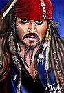 Captain Jack Sparrow by Andrew Taylor