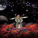 The Martian Dragon by WildestArt
