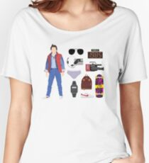 Back to the Future : Time Traveler Essentials 1985 Women's Relaxed Fit T-Shirt