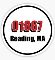 01867 READING MA Sticker