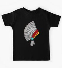 Indian Headdress Kids Tee