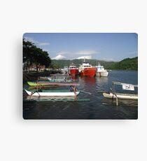 Leaving Lombok Canvas Print
