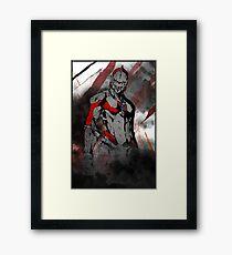 Ultraman Mangga Framed Print