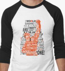 Keep moving forward! Men's Baseball ¾ T-Shirt