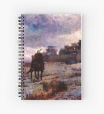 Jon Snow Of Winterfell Spiral Notebook