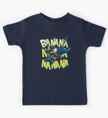 Banana Bat Minion Kids Tee