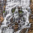 Cascading Ithaca Falls by Kenneth Keifer