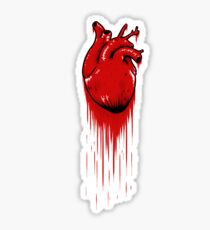 My Bloody Hearth Sticker