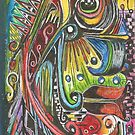 Picasso Head by Faith Magdalene Austin