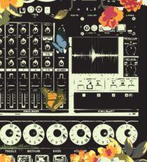 sound of nature Sticker