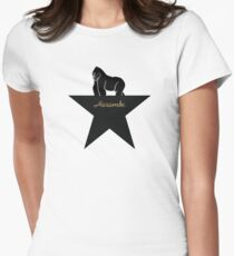 harambe - hamilton musical Women's Fitted T-Shirt