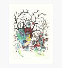 Three Times an Orphan Art Print