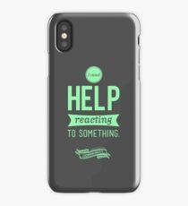 I Need Help iPhone Case/Skin