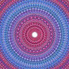 Keep a Loving Heart Mandala by Elspeth McLean