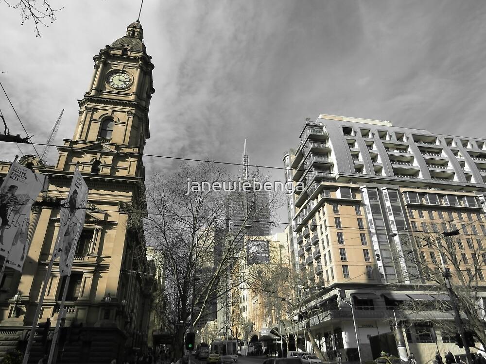 Melbourne Architecture by janewiebenga